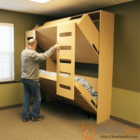 Bed Bigland 3 In 1 murphy bed bunk beds pdf woodworking