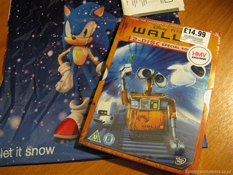Buy Hmv Gift Card Online - wall e 2 disc special edition dvd with art cards lh yeung net blog tech anime and