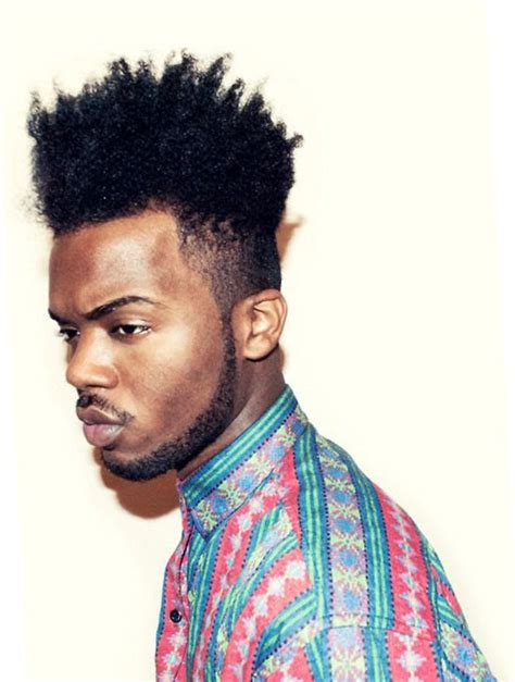 Coiffure Style by Coiffure Afro Homme Degrade Les Tendances Mode 2018