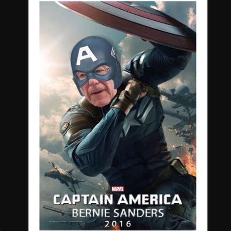 Captain America Kink Meme - bernie sanders captain america blank template imgflip