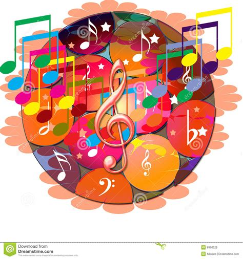 printable music banner music notes banner stock illustration image of card