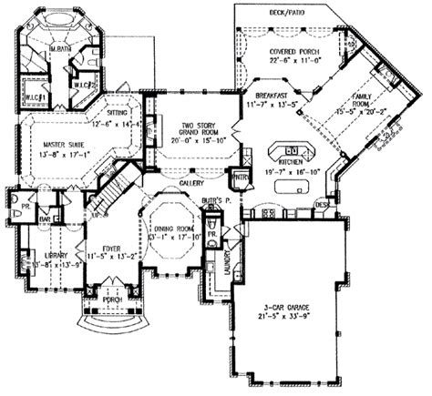 4000 Sq Ft Floor Plans by Planos De Mansiones De Lujo Imagui