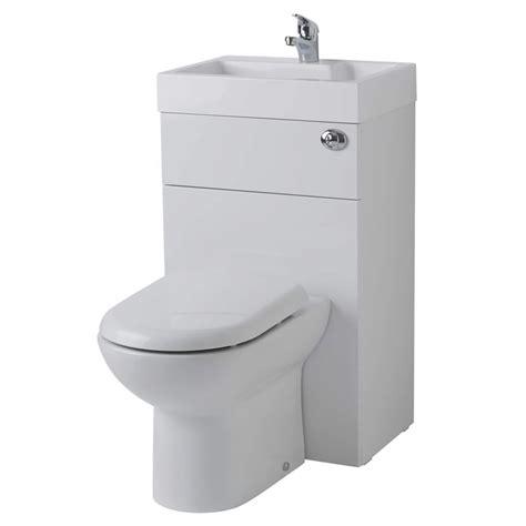 milano linton combination toilet basin unit