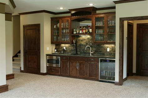 basement bar traditional kitchen minneapolis by media room traditional basement minneapolis by