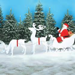 santa sleigh and reindeer holiday woodworking plans