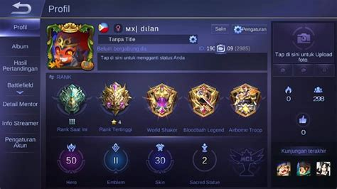 evos mobile legends indonesia arts entertainment