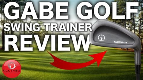 golf swing review gabe golf swing trainer review youtube