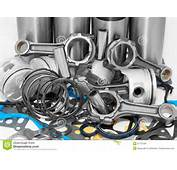 Lots Of Auto Spare Parts Royalty Free Stock Images  Image 21737549