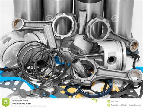 Sparepart R lots of auto spare parts stock image image of diesel