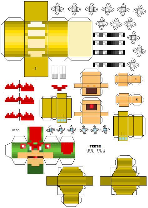 Papercraft Mario Bros - papercraft project smash bros dorito 140 perro300