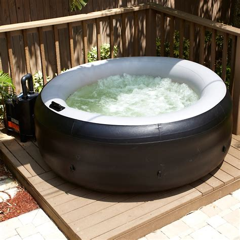 bathtub jacuzzi portable find out what s the best inflatable portable style of hot tubs