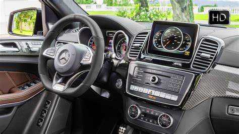 mercedes gls interior 2017 mercedes amg gls 63 4matic facelift interior