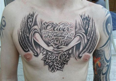 amazing chest tattoos 75 appealing chest tattoos for