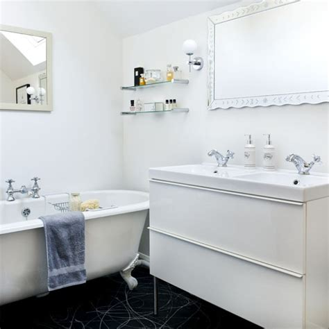 Small White Bathroom Ideas Tiny Bathrooms Small Bathroom Design Ideas Housetohome Co Uk