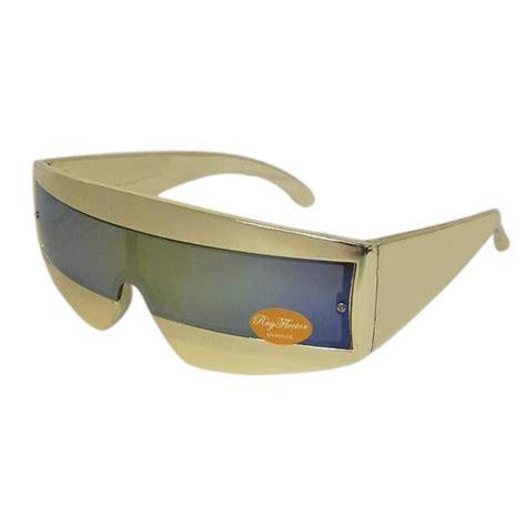 80 S Accessories Sunglasses by Retro 80s Style Wrap Around Sunglasses Shades Robocop