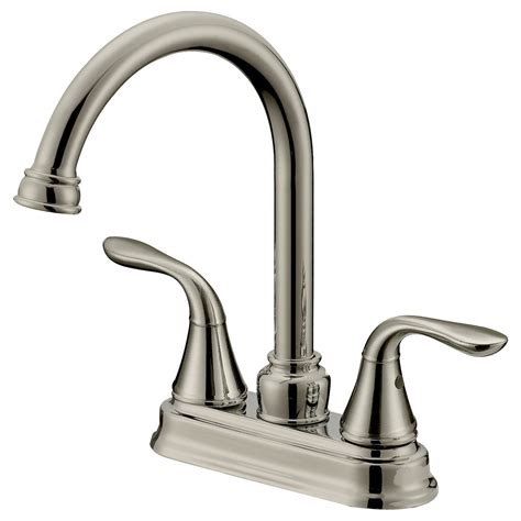Bar Faucet by Lb6b Brushed Nickel Finish Bathroom Bar Faucet