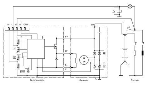 generator mit multifunktionsregler