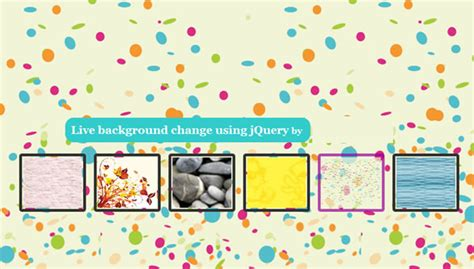 jquery change background image jquery custom change background effect backgroud image
