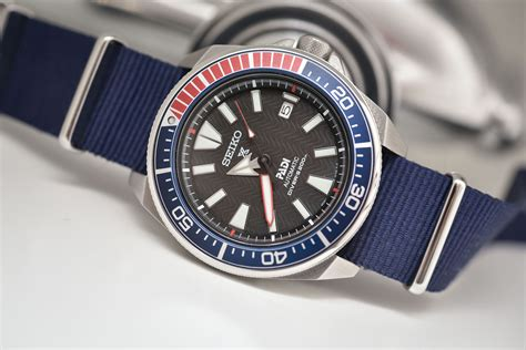 Seiko Samurai Shurikane Diver 200m Skz285 monochrome watches dedicated to watches