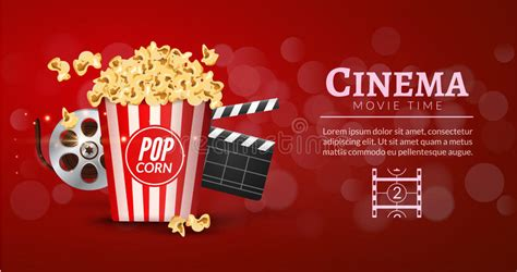 amazon com old time movie reel treats popcorn wallpaper border movie film banner design template cinema concept with