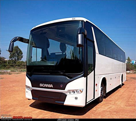 scania launches metrolink new coach range for india