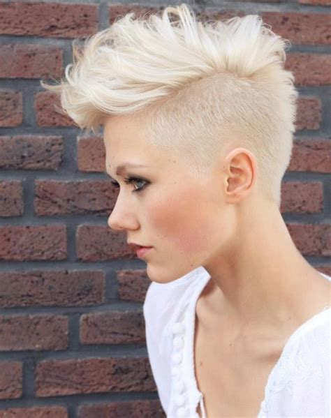my hair is only short on the sides how can i do a sewin short blonde hair shaved side hairstyles hair photo com
