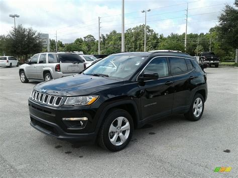 jeep compass 2018 black 2018 black pearl jeep compass latitude