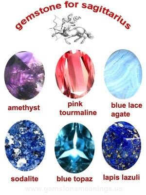sagittarius birthstone color gemstone for sagittarius the stones for