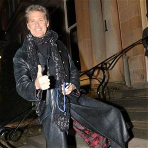 Hasselhoff Battles Boozing Reports by David Hasselhoff David Hasselhoff S Bonded His