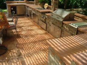 Ideas For Outdoor Kitchens Backyard Design Outdoor Kitchen Ideas Interior Design Inspiration