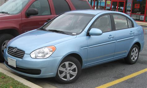 Image Gallery hyundai accent 2009