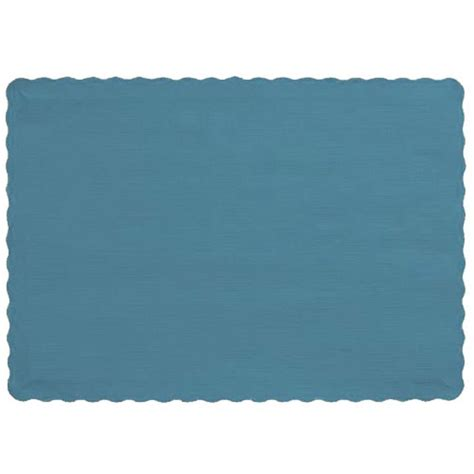 Paper Placemats - scalloped paper placemats