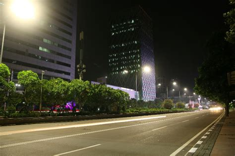 Lu Led Philips Di Jakarta jakarta gets philips led lights and city touch system solid state lighting design