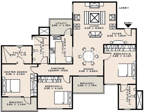 sobha floor plan sobha zircon in jakkur bangalore price location map