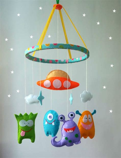 baby mobile for crib felt nursery mobile cot mobile hanging crib by zootoys