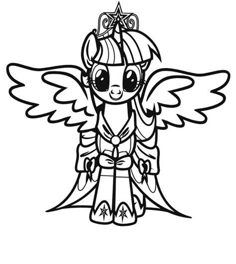 Coloriage My Little Pony Az Coloriage