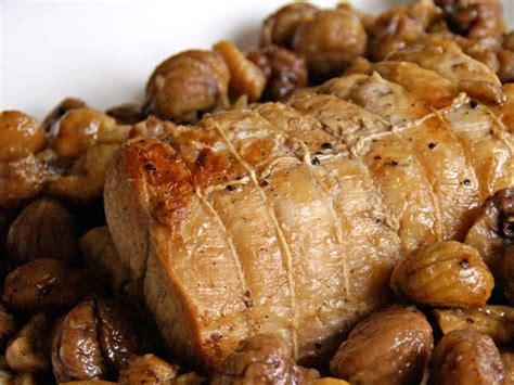 cucinare le caldarroste carr 232 di maiale con caldarroste e mele ricetta con