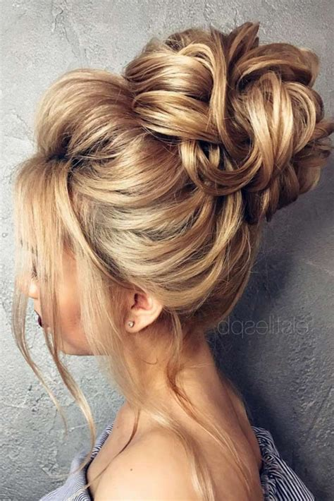 Wedding Hairstyles Updos Bun by Low Bun Prom Pictures To Pin On Tattooskid