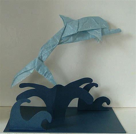 Origami Dolphin - origami dolphin dolphins origami