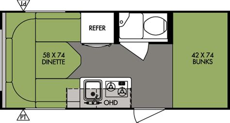 r pod 177 floor plan palomino columbus and compass floorplans specs texas