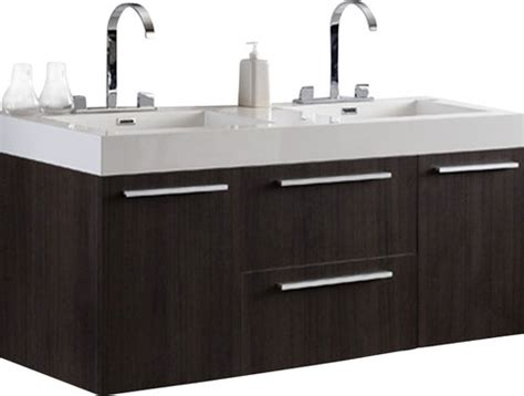 bathroom vanity against wall fresca opulento bathroom vanity gray oak 183 more info