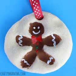 salt dough crafts fingerprint snowman salt dough ornament crafty