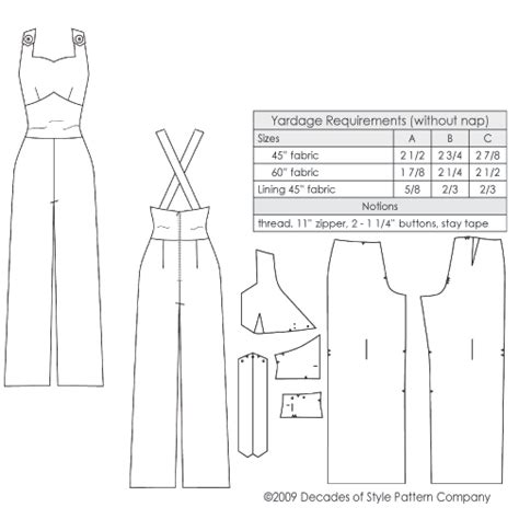 vintage overall pattern 1930s sweetheart overalls from pre world war ii era