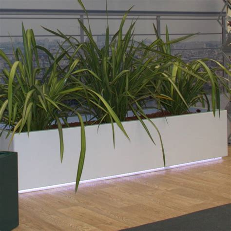 Light Up Planters by Led Light Up Garden Trough Planter By Precious Design