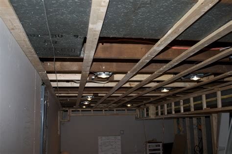 basement ceiling with all furring strips in place jay