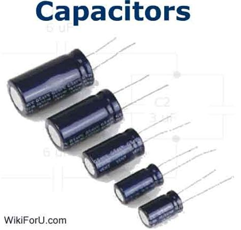 what is a unit of capacitor what is a capacitor basic electronics tutorials wiki for u wiki for you