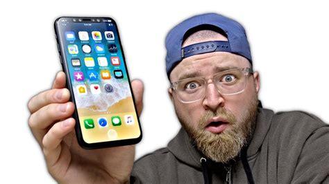 i ve got the iphone x prototype
