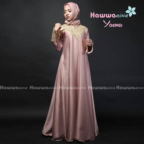 Yasma Dress by Supplier Baju Muslim Terbaru
