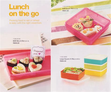 Seal Wnew Snack N Stor Tupperware m a m a a d a m tupperware new catalogue 2 jan