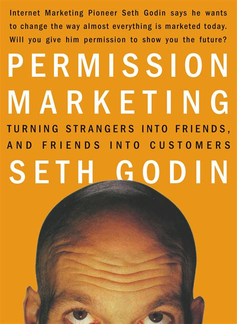 the marketer books permission marketing book by seth godin official